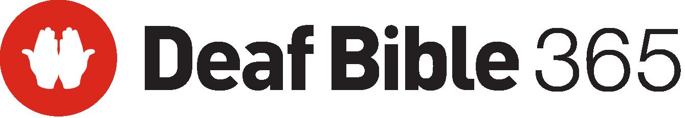 Deaf Bible 365 Logo