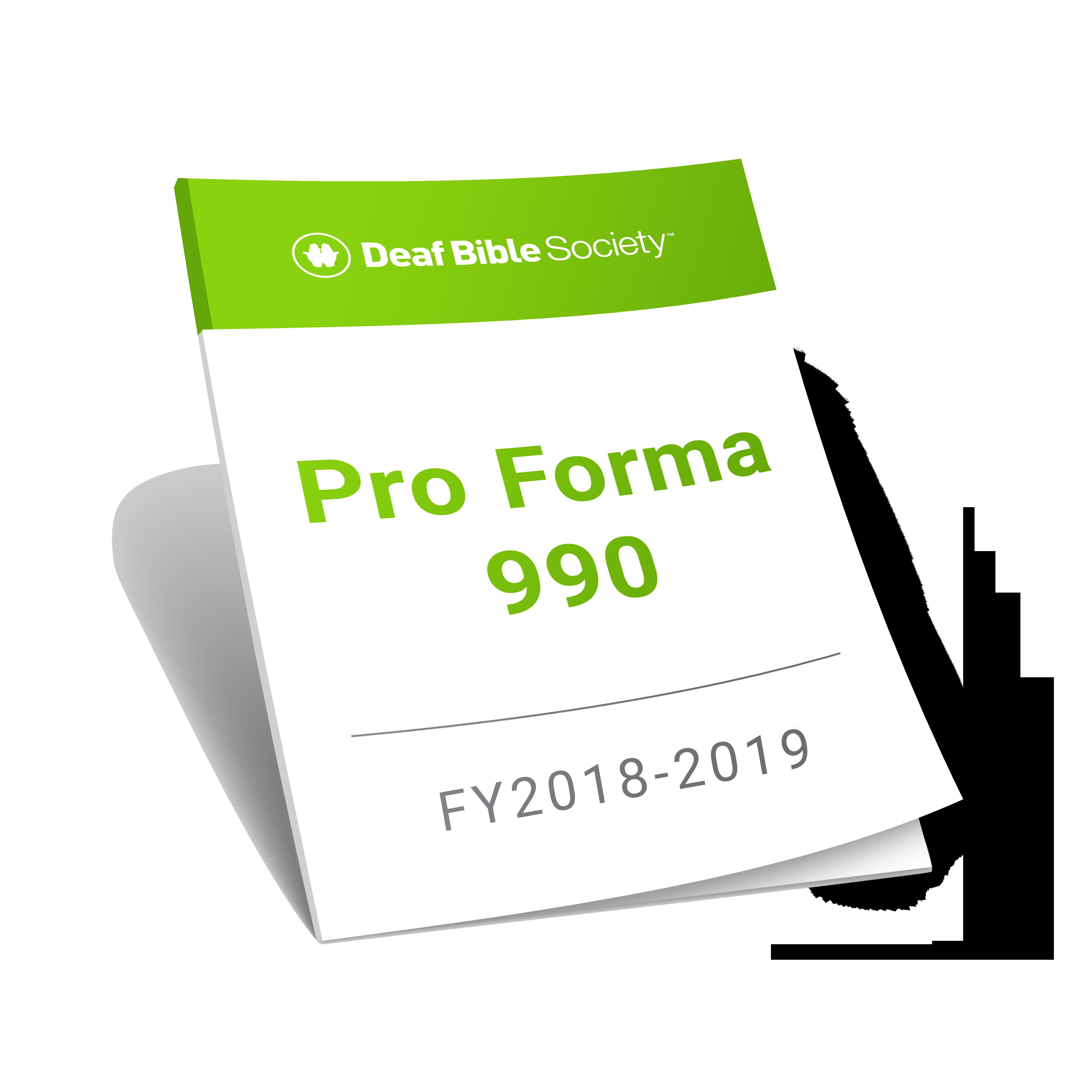 Pro Forma Icon